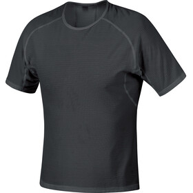 GORE WEAR M Base Layer Intimo parte superiore Uomo nero